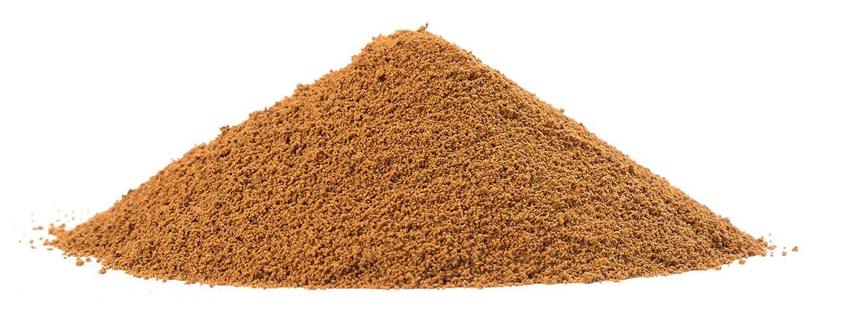 Polvo de raiz de achicoria tostada